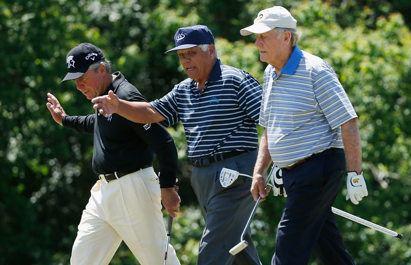 Gary Player, Lee Trevino, Jack Nicklaus