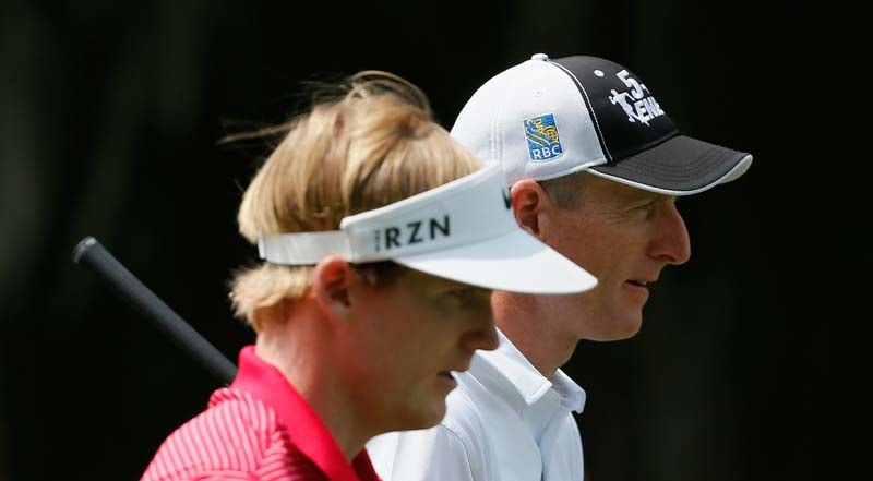 Jim Furyk and Russell Henley
