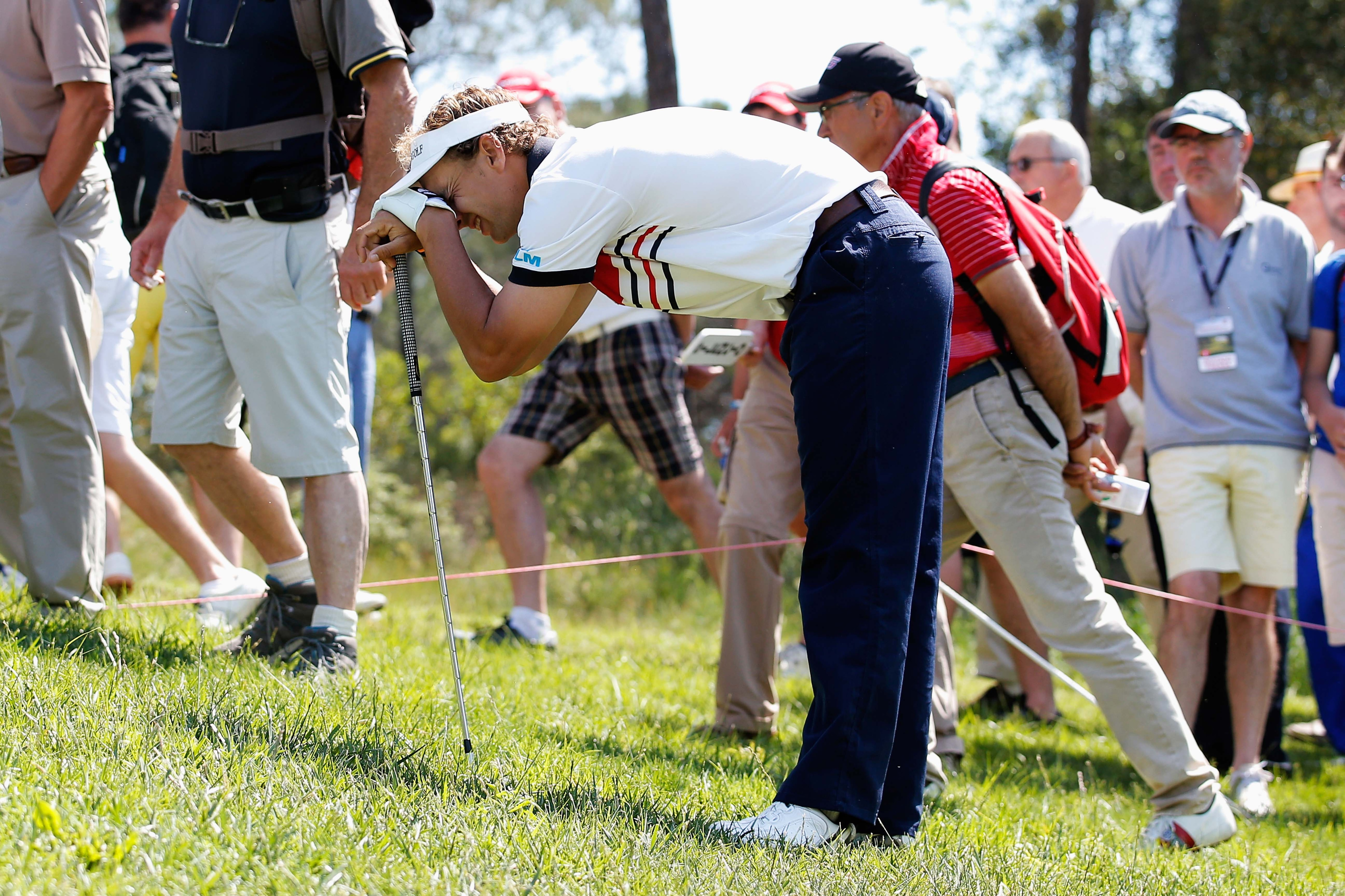 We're guessing this was a bad shot