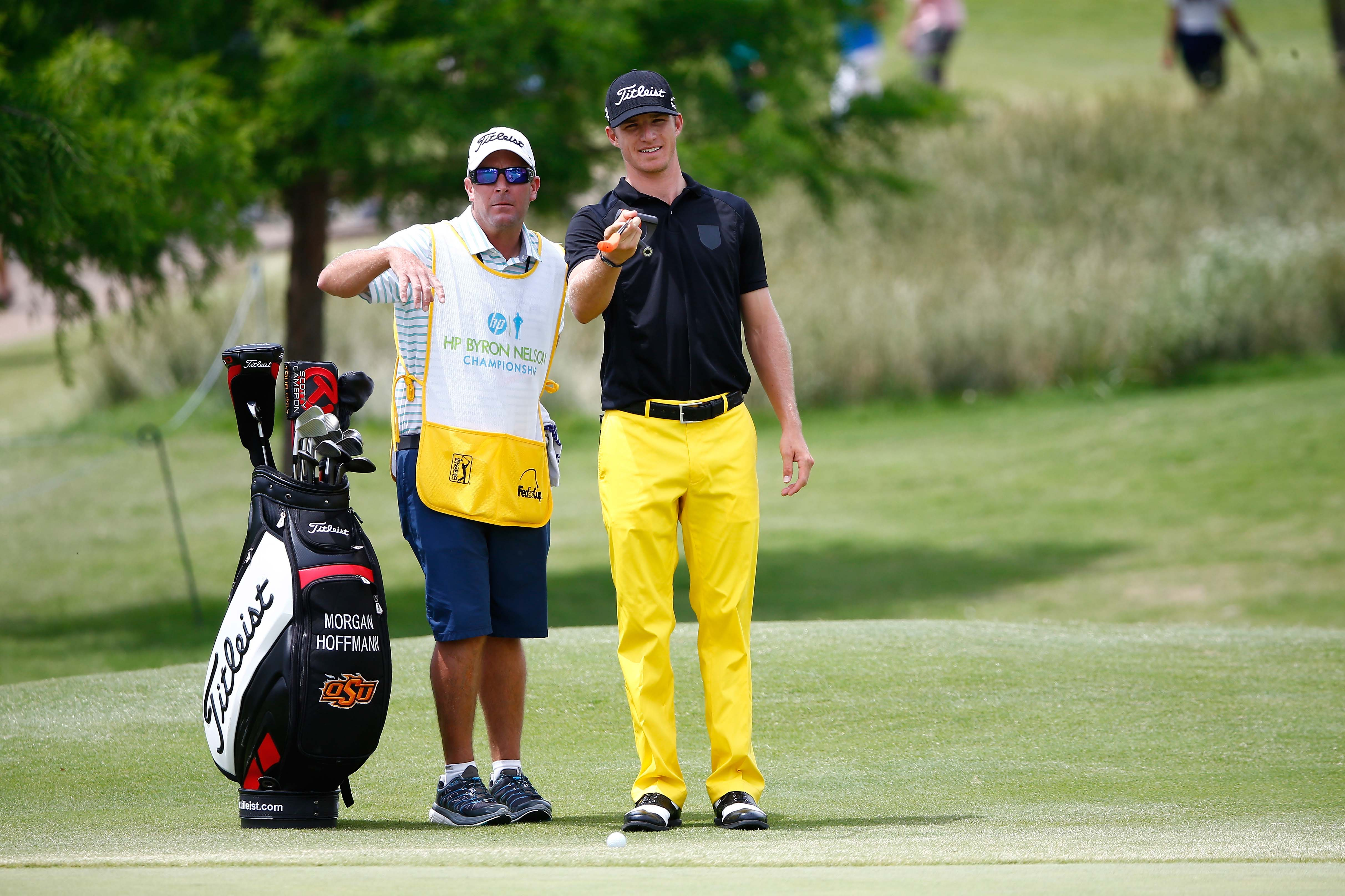 Morgan Hoffmann's pants can be seen from space