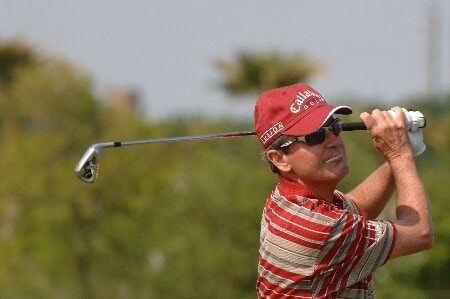Mark McNulty  competes in the Wednesday Pro Am at the 2005 Liberty Mutual Legends of Golf tournament, April 20, in Savannah.Photo by Al Messerschmidt/WireImage.com