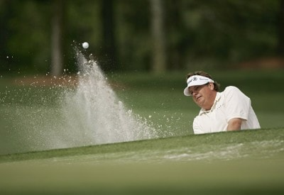 Tim Herron during practice for the 2007  Masters at the Augusta National Golf Club in Augusta, Georgia, on April 4, 2007. The 2007 Masters - Practice - April 4, 2007Photo by Sam Greenwood/WireImage.com