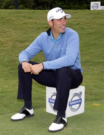 CASARES, SPAIN - MAY 18:  Alvaro Quiros of Spain during the pro-am event prior to the Volvo World Match Play Championship at Finca Cortesin on May 18, 2011 in Casares, Spain.  (Photo by Ross Kinnaird/Getty Images)