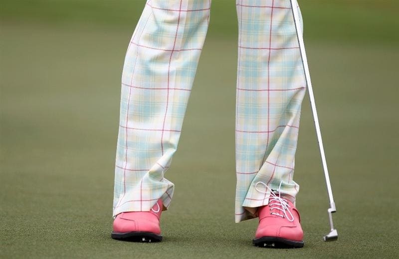 DORAL, FL - MARCH 11:  Ian Poulter of England is seen putting on the seventh green during the first round of the 2010 WGC-CA Championship at the TPC Blue Monster at Doral on March 11, 2010 in Doral, Florida.  (Photo by Scott Halleran/Getty Images)