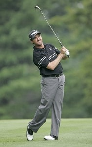 Mark Hensby during the first round of the 2006 WGC-Bridgestone Invitational held on the South Course at Firestone Country Club in Akron, Ohio, on August 24, 2006.Photo by Chris Condon/PGA TOUR/WireImage.com