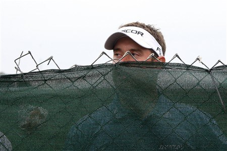 SAN DIEGO - JUNE 13:  Lee Westwood of England looks over a fence on the 15th hole during the second round of the 108th U.S. Open at the Torrey Pines Golf Course (South Course) on June 13, 2008 in San Diego, California.  (Photo by Ross Kinnaird/Getty Images)