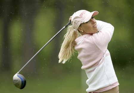 LPGA-Corning Classic-3rd Round: Carin Koch on the  12th hole during the third round of the Corning Classic being held at the Corning Country Club in Corning, New York on May 28, 2005.Photo by Mike Ehrmann/WireImage.com