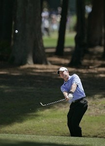 Scott Verplank during the second round of the Verizon Heritage Classic at the Harbour Town Golf Links in Hilton Head, South Carolina on April 13, 2007 Photo by Michael Cohen/WireImage.com