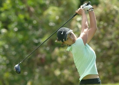 Grace Park in action during Pro-Am the inaugural 2006 Fields Open in Hawaii at Ko Olina Golf Club in Kapolei, Hawaii February 22, 2006.Photo by Steve Grayson/WireImage.com