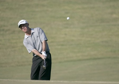 Nathan Green during the final round of the Nationwide Tour Championship held  on the Senator course at Capitol Hill GC in Prattville, Alabama on Sunday, October 30, 2005.Photo by Sam Greenwood/WireImage.com