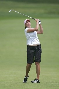 Beth Bauer during the first round of the 2006 Sybase Classic at Wygakyl Country Club in  New Rochelle, New York on May 18, 2006.Photo by Michael Cohen/WireImage.com