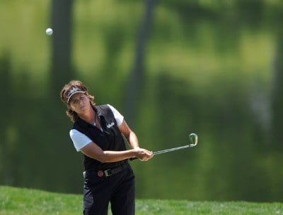 Rosie Jones in action during the second round of the LPGA's 2006 Michelob ULTRA Open at Kingsmill, at the Kingsmill Resort and Spa River Course in Williamsburg, Virginia on May 12, 2006.Photo by Steve Grayson/WireImage.com