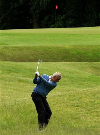 MAYNOOTH, IRELAND - JUNE 11:  Marc Farry of France in action during the first round of the Handa Irish Senior Open presented by Failte Ireland played at the Montgomerie Course, Carton House GC on June 11, 2010 in Maynooth, Ireland.  (Photo by Phil Inglis/Getty Images)