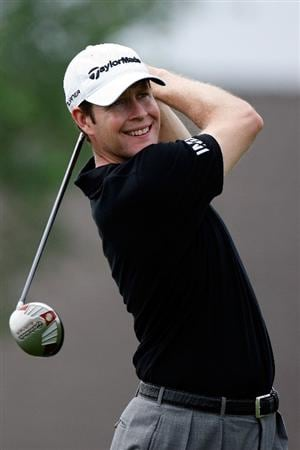 BROUSSARD, LA - MARCH 27:  Justin Bolli tees off on the 7th hole during the second round of the 2009 Chitimacha Louisiana Open at Le Triomphe Country Club on March 27, 2009 in Broussard, Louisiana.  (Photo by Chris Graythen/Getty Images)