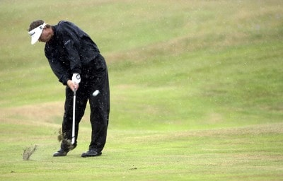Peter Jacobson (US) during the third round of the 2006 Senior British Open Championship at The Westin Turnberry Resort in Ayrshire, Scotland on Saturday, July 29, 2006.Photo by Matthew Harris/WireImage.com