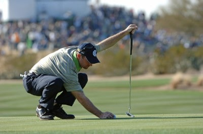 Rod Pampling during the second round of the FBR Open at the TPC Scottsdale on Friday, February 2, 2007 in Scottsdale, Arizona PGA TOUR - 2007 FBR Open - Second RoundPhoto by Marc Feldman/WireImage.com