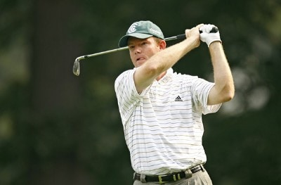 Shaun Micheel during the second round of the 88th PGA Championship at Medinah Country Club in Medinah, Illinois, on August 18, 2006.Photo by Mike Ehrmann/WireImage.com