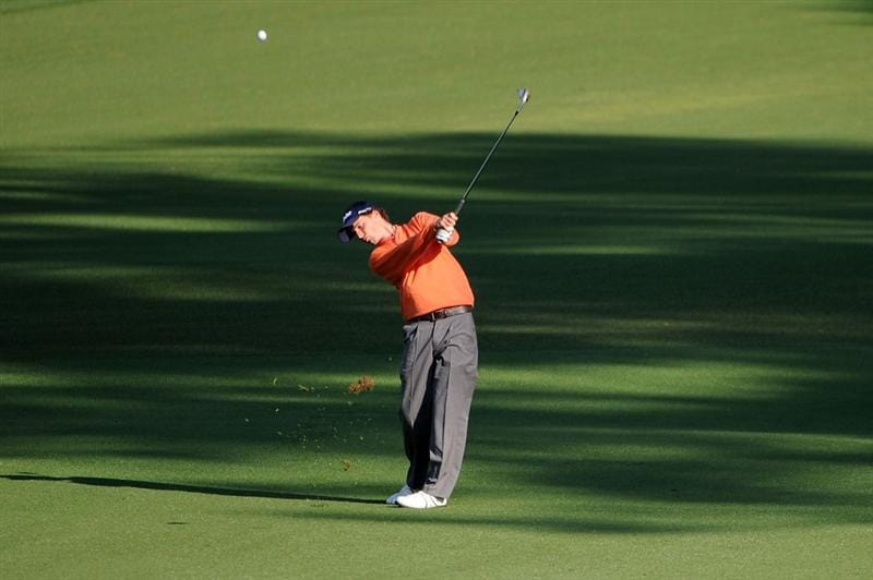 AUGUSTA, GA - APRIL 09:  Amateur Reinier Saxton of Holland plays a shot to the second green during the first round of the 2009 Masters Tournament at Augusta National Golf Club on April 9, 2009 in Augusta, Georgia.  (Photo by Harry How/Getty Images)