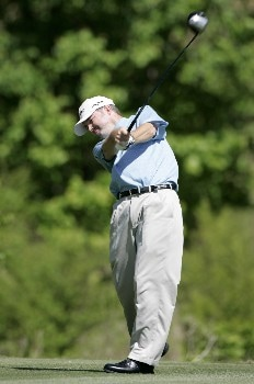 Craig Bowden in action during the final round of the Rex Hospital Open, May 8,2005, held at TPC of Wakefield Plantation, Raleigh, N.C. Eric Axley shot 14 under for the tournament win on Sunday.Photo by Stan Badz/PGA TOUR/WireImage.com