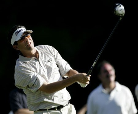 Billy Andrade during the second round of the Deutsche Bank Championship held at the TPC Boston in Norton, Massachusetts on Saturday, September 3, 2005.Photo by Sam Greenwood/WireImage.com