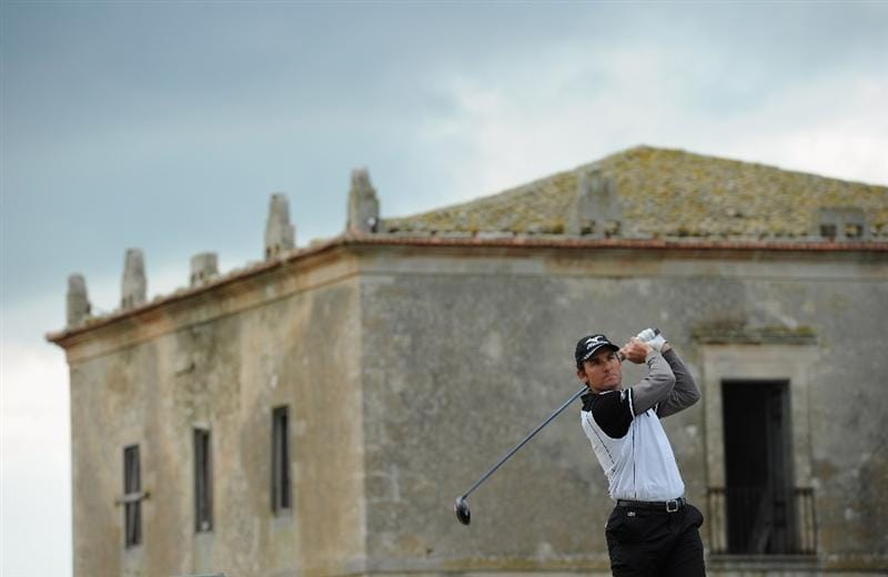 RAGUSA, ITALY - MARCH 20:  Ignacio Garrido of Spain plays his tee shot on the sixth hole during the final round of the Sicilian Open at the Donnafugata golf resort and spa on March 20, 2011 in Ragusa, Italy.  (Photo by Stuart Franklin/Getty Images)