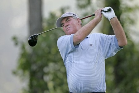 John Bland in action during the second round at the FORD Senior Players Championship, July 8,2005, held at  the TPC of Michigan, Dearborn, Michigan.Photo by Stan Badz/PGA TOUR/WireImage.com