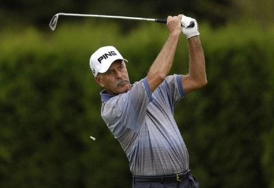 Mark James during the first round of the JELD-WEN Tradition at The Reserve Vineyards & Golf Club in Aloha, Oregon on Thursday, August 24, 2006.Photo by Steve Levin/WireImage.com