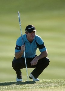 Peter Lonard in action during the first round of the 2007 Hope Chysler Classic, at the Classic Course in Palm Desert, California on January 19, 2007. PGA TOUR - 2007 Bob Hope Chrysler Classic - First RoundPhoto by Steve Grayson/WireImage.com
