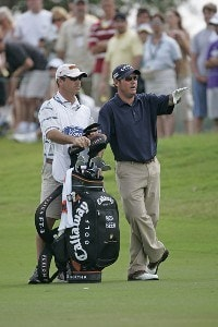 Rich Beem plays the first hole during the fourth and final round of the Ford Championship at Doral held on the Blue Course at Doral Golf Resort and Spa, in Doral, Florida, on March 5, 2006.Photo by: Chris Condon/PGA TOUR
