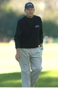 Mark Brooks in action during the final round of 2006 Nissan Open Presented by Countrywide at Riviera Country Club in Pacific Palisades, California February 19, 2006.Photo by Steve Grayson/WireImage.com