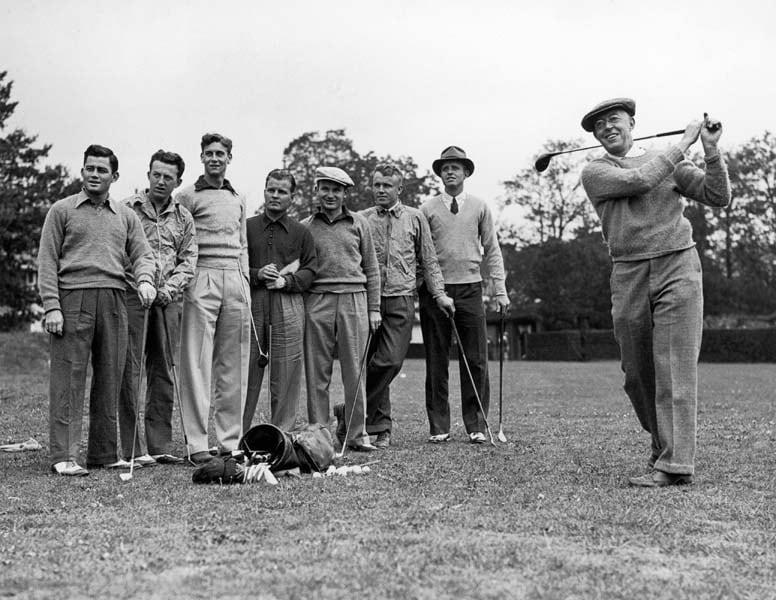 Francis Ouimet, 1938 Walker Cup