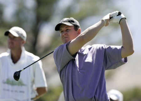 J.J. Henry in action during the final round at the Reno-Tahoe Open,  August 21,2005, held at Montreux GC, Reno, Nevada.Photo by Stan Badz/PGA TOUR/WireImage.com