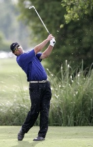 Chris Couch during the final round of the Zurich Classic of New Orleans at the English Turn Golf & Country Club in New Orleans, Louisiana on April 30, 2006.Photo by Gregory Shamus/WireImage.com