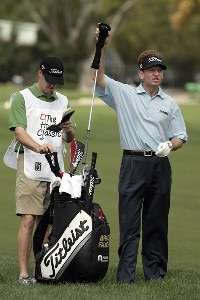 Brad Faxon during the first round of the 2007 Honda Classic on the PGA National Champion Course in West Palm Beach, Florida. March 1, 2007. PGA TOUR - The 2007 Honda Classic - First RoundPhoto by Pete Fontaine/WireImage.com