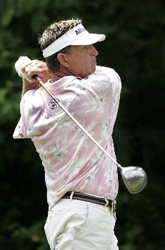 Dana Quigley at the 5th tee during the final round of the Bruno's Memorial Classic, May 22,2005, held at Greystone GC, Birmingham, Al.Photo by Stan Badz/PGA TOUR/WireImage.com
