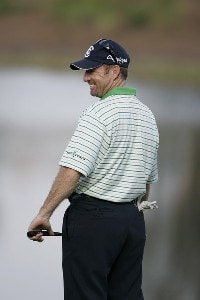 Rod Pampling during the second round of the Merrill Lynch Shootout at the Tiburon Golf Club in Naples, Florida on November 11, 2006. PGA TOUR - 2006 Merrill Lynch Shootout - Second RoundPhoto by Michael Cohen/WireImage.com
