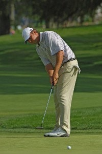 Bo Van Pelt during the first round of the 2006 U.S. Open Golf Championship at Winged Foot Golf Club in Mamaroneck, New York on June 15, 2006.Photo by Marc Feldman/WireImage.com