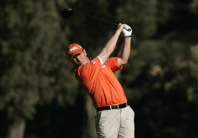 Ted Purdy in action during the first round of the PGA Tour's 2007 Nissan Open at Rivera Country Club in Pacific Palisades, California on February 15, 2007. PGA TOUR - 2007 Nissan Open - First RoundPhoto by Steve Grayson/WireImage.com