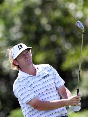 ORLANDO, FL - MARCH 24:  Brandt Snedeker plays a shot on the 7th hole during the first round of the Arnold Palmer Invitational presented by MasterCard at the Bay Hill Club and Lodge on March 24, 2011 in Orlando, Florida.  (Photo by Sam Greenwood/Getty Images)