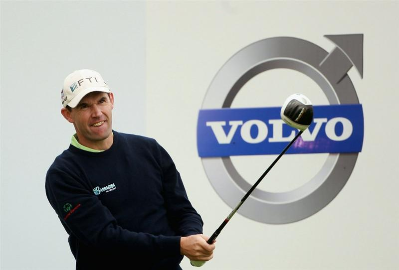 BAHRAIN, BAHRAIN - JANUARY 26:  Padraig Harrington of Ireland in action during the Pro Am prior to the start of the Volvo Golf Champions at The Royal Golf Club on January 26, 2011 in Bahrain, Bahrain.  (Photo by Andrew Redington/Getty Images)
