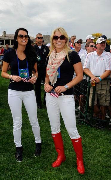 Amanda Dufner and Lindsey Vonn