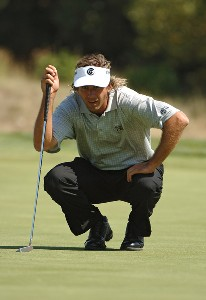 Pat Bates during the first round of the 2006 Mark Christopher Charity Classic at the Empire Lake Golf Club in Rancho Cucamonga, California on Thurday, October 5, 2006 Nationwide Tour - 2006 Mark Christopher Charity Classic - First RoundPhoto by Marc Feldman/WireImage.com