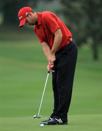 ORLANDO, FL - MARCH 23:  Sergio Garcia of Spain during the pro-am as a preview for the 2011 Arnold Palmer Invitational presented by Mastercard at the Bay Hill Lodge and Country Club on March 23, 2011 in Orlando, Florida.  (Photo by David Cannon/Getty Images)