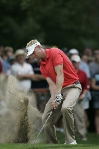 Vaughn Taylor  during the fourth and final round of the Buick Open at Warwick Hills Golf and Country Club in Grand Blanc, Michigan on August 6, 2006.Photo by Michael Cohen/WireImage.com