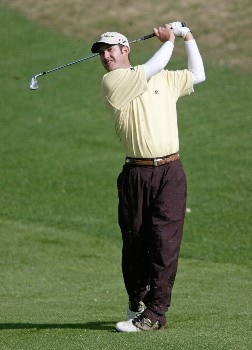 Danny Ellis during the first round  at The BellSouth Classic. April 2nd, 2005 held at the TPC Sugarloaf, Duluth, Georgia.