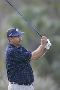 Brad Bryant during the first round of the ACE Group Classic held at the TwinEagles GC in Naples, Florida on February 17, 2006.Photo by Sam Greenwood/WireImage.com