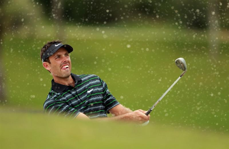 CASARES, SPAIN - MAY 19:  Charl Schwartzel of South Africa in action during the group stages of the Volvo World Match Play Championship at Finca Cortesin on May 19, 2011 in Casares, Spain.  (Photo by Andrew Redington/Getty Images)