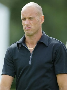 Johan Skold (SWE) during the second round of the 2005 BMW International Open at the Nord-Eichenried Golf Club in Munich, Germany on August 26, 2005.Photo by Alexanderk/WireImage.com