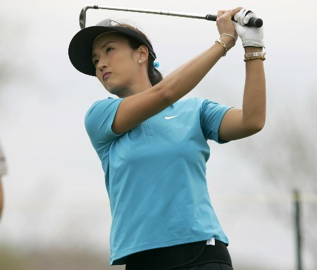Grace Park during the second round of The Safeway International at Superstition Mountain Golf and Country Club on March 17, 2005.