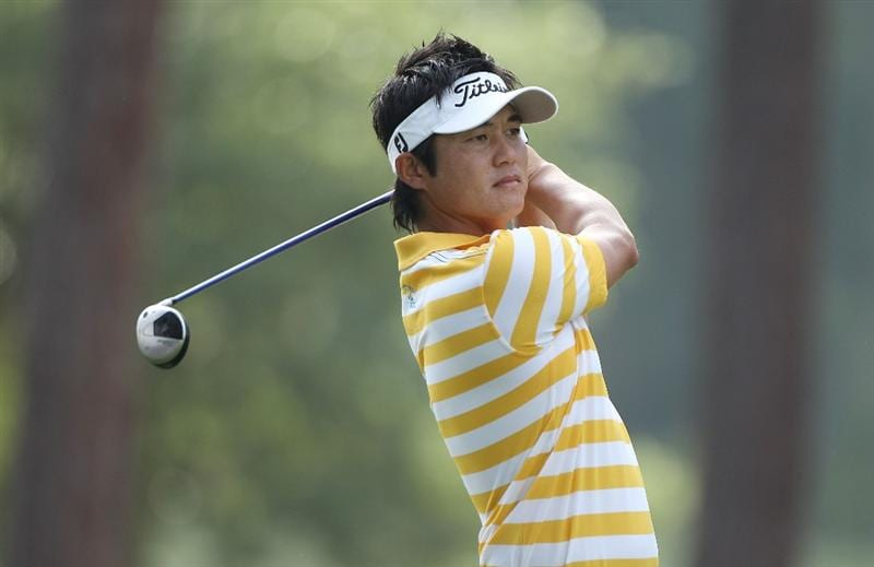 PONTE VEDRA BEACH, FL - MAY 07:  Ryuji Imada of Japan hits his tee shot on the sixth hole during the second round of THE PLAYERS Championship held at THE PLAYERS Stadium course at TPC Sawgrass on May 7, 2010 in Ponte Vedra Beach, Florida.  (Photo by Scott Halleran/Getty Images)